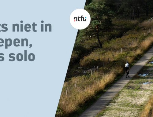 NTFU: Fietsen doe je solo